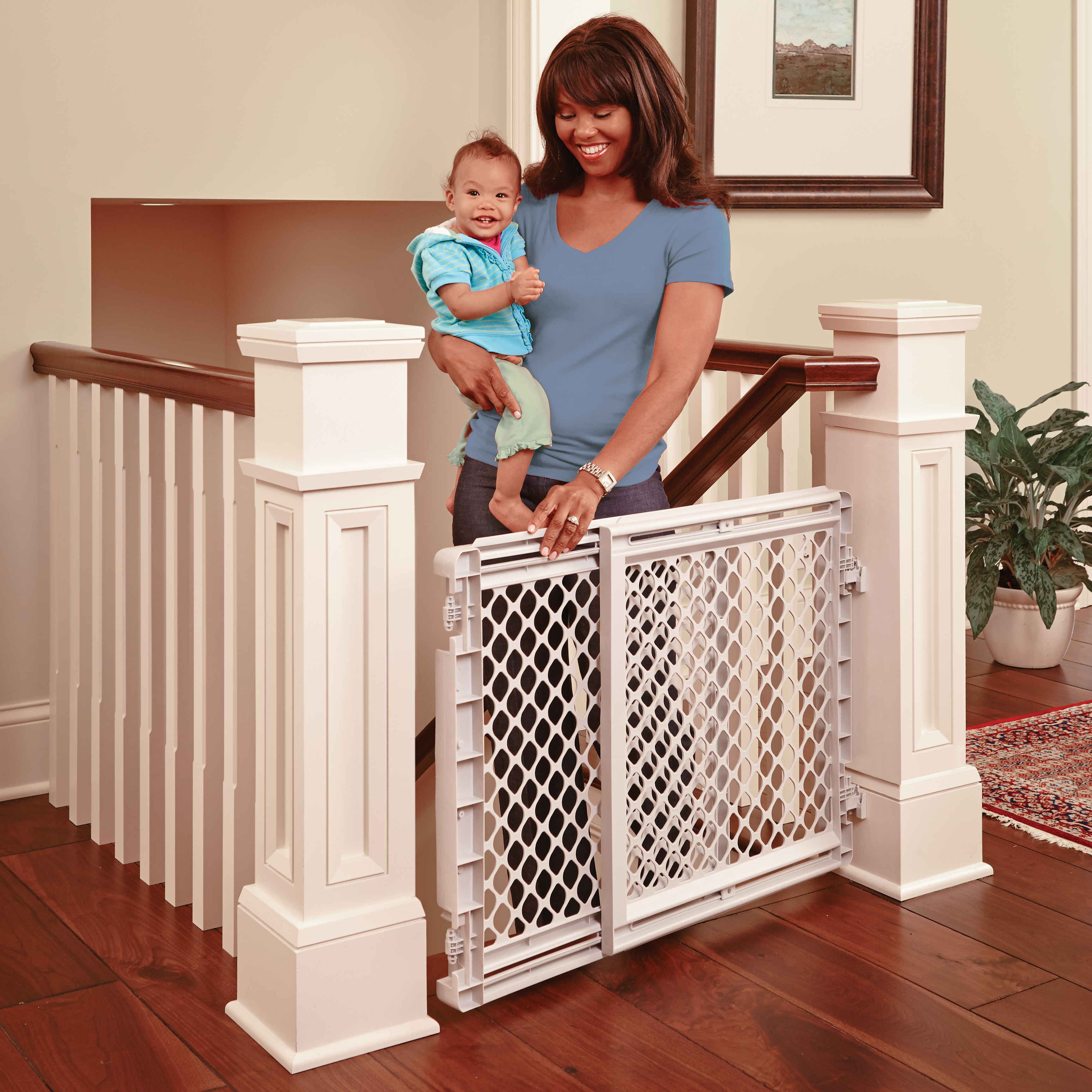 Stairway Baby Gate Gates For Babies Toddleroo By North States