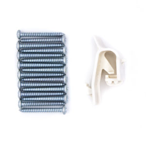 Hardware Package - Extra-Wide Gate Ivory