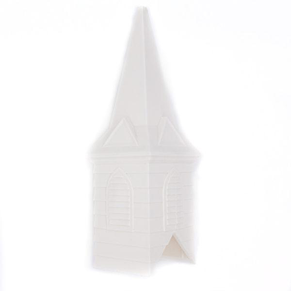 White Church Steeple - Church Birdfeeder