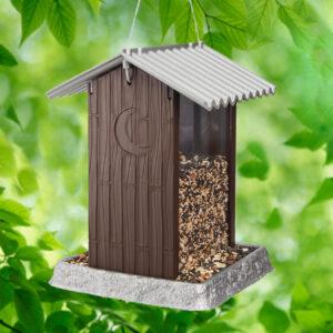 9210 Outhouse Birdfeeder