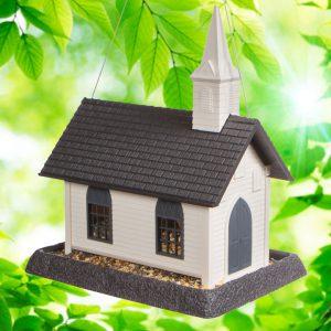 Large Church Birdfeeder