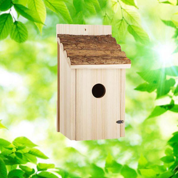 Rustic Roof Bluebird House