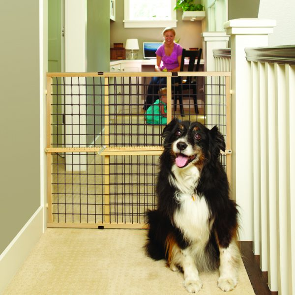 Extra-Wide Wire Mesh Petgate