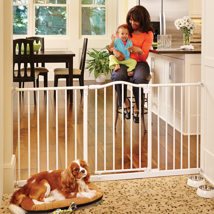 Wide Portico Arch Baby Gate Gates For Babies North States
