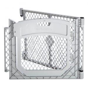 Superyard Two-Panel Gray Door Extension