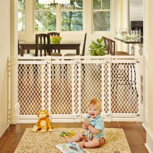 Extra-Wide Gate - Ivory