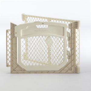 Superyard Two-Panel Ivory Door Extension