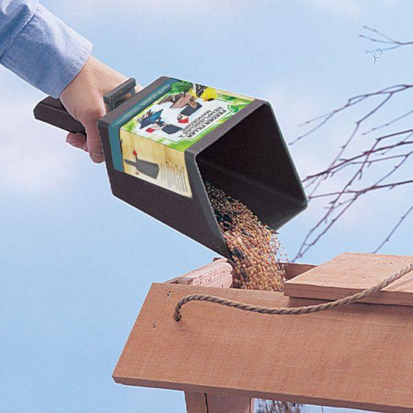 Feeder Filler Scoop Filling Seed into Birdhouse