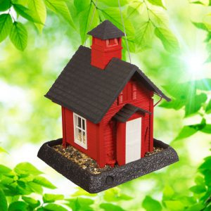 School House Birdfeeder