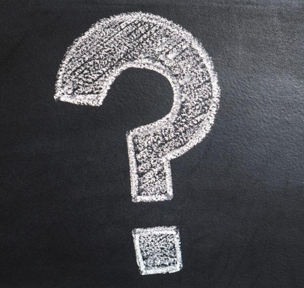 Blackboard Question Mark