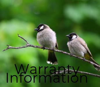 Warranty Info Bird mobile