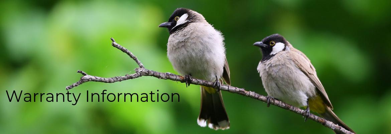 Warranty Info Bird