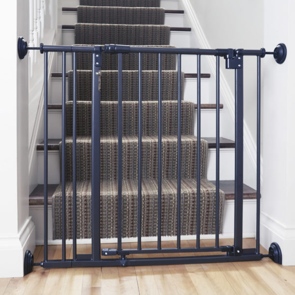 Safety Gate Wall Guards (Black)