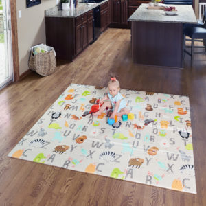 Superyard Folding ABC Play Mat