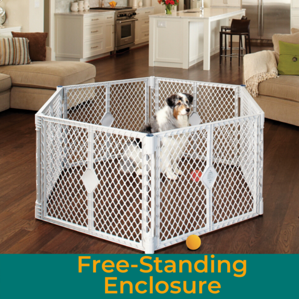 Free-Standing Enclosure Icon Pet