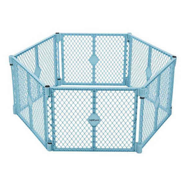 Superyard 6-Panel Aqua Blue