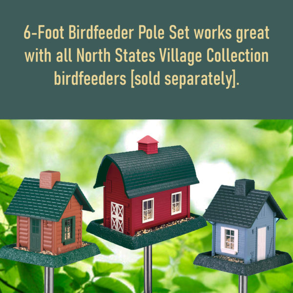 6-Foot Birdfeeder Pole