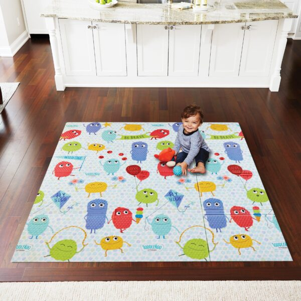 Superyard Folding Toddleroo Friends Play Mat
