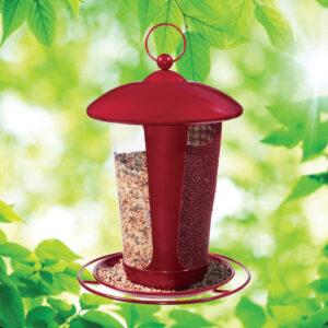 1852 Crimson Dual Seed Feeder
