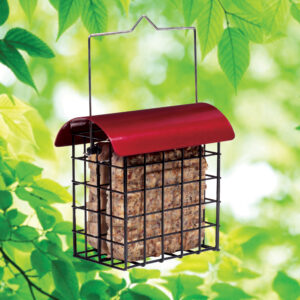 1856 Crimson Double Suet Feeder