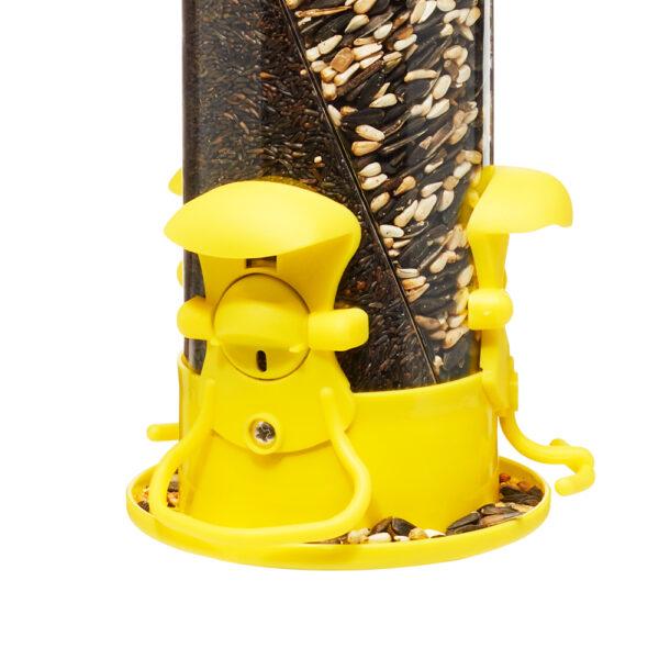 Triple Twist Tube Feeder Yellow Port