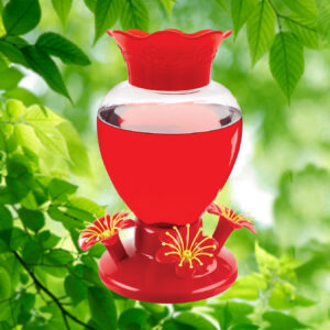 Perfect Petal 38 oz. Hummingbird Feeder