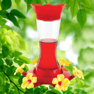 Hour Glass 20 oz. Hummingbird Feeder