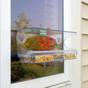 Large Clear Choice Window Birdfeeder