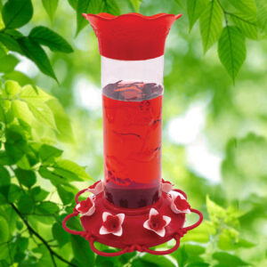 Hibiscus Hummingbird Feeder